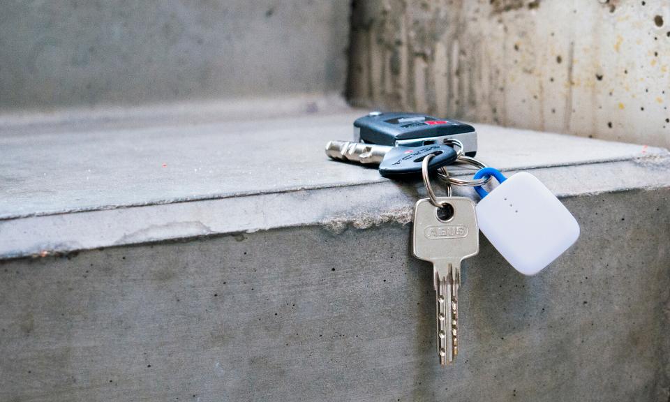 Zgubione klucze z lokalizatorem notiOne